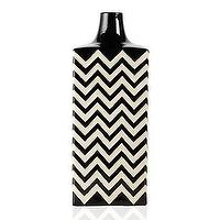 Decor/Accessories - Z Gallerie - Ottavio Vase - Black & White - ottavio, vase, black, white