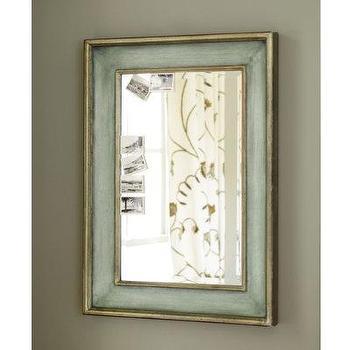 Ogden Mirror, Ocean Blue Mirror -