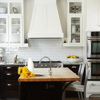 Butcher Block Island, Transitional, kitchen, TerraCotta Properties