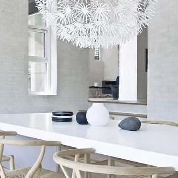 Ikea Chandelier, Modern, dining room