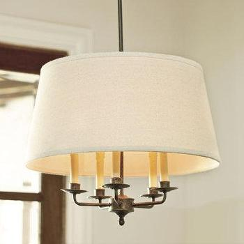 Crawford 5-Light Chandelier, Tableware, Ballard Designs