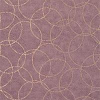Wallpaper - Thibaut Natural Resource - Solar Disk - Wallpaper - Metallic on Eggplant - thibaut, solar disc, metallic, eggplant, wallpaper