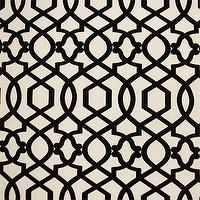 Fabrics - Designer Fabrics Online - black, sultana, lattice, fabric