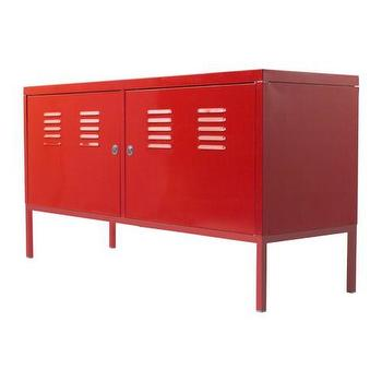 Storage Furniture - IKEA PS Cabinet - red - IKEA - ikea, ps, red, locker
