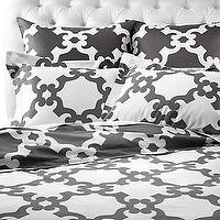 Bedding - Z Gallerie - Montecito Bedding - Grey - montecito, bedding, grey