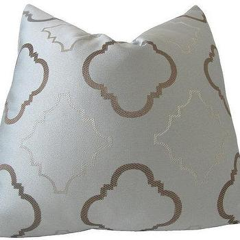 Decorative Designer Pillow Cover18x18Steel Blue and by nenavon