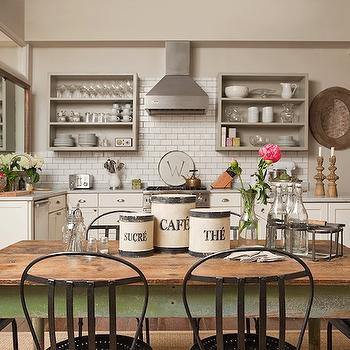 Farmhouse Dining Table, Cottage, kitchen, Jenny Wolf Interiors
