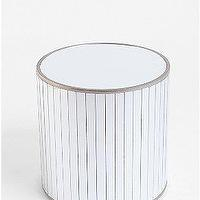 Tables - UrbanOutfitters.com > Disco Side Table - faceted, mirror, disco, drum, table