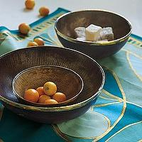 Decor/Accessories - Horn Nesting Bowls - Set of 3 | Serena & Lily - horn, nesting, bowls