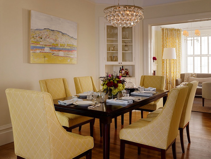 Robert Abbey Bling Chandelier - Transitional - dining room - Jute ...