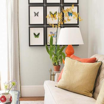 Butterfly Art, Transitional, living room, Jute interior Design