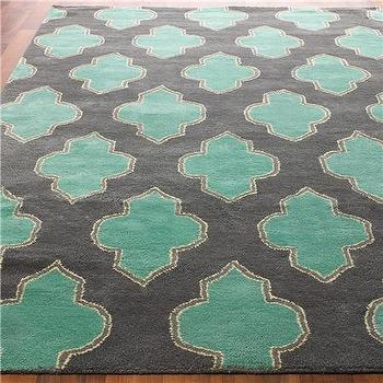 Rugs - Floating Medallion Hand Tufted - Shades of Light - floating, medallion, hand tufted, rug