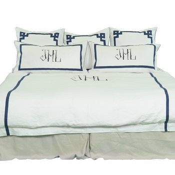 Bedding - Chopstick + Fretwork | Bed | Products | Home | Leontine Linens - chopstick, fretwork, bedding
