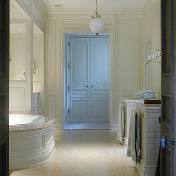 Trim Moldings, Transitional, bathroom, Litchfield Designs