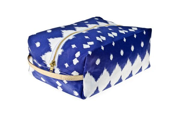 Miscellaneous - Hammocks & High Tea Lattice Dopp Kit - blue, lattice, dopp, kit