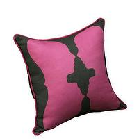 Pillows - AphroChic - Reflection Fuchsia - reflection, fuchsia, pillow
