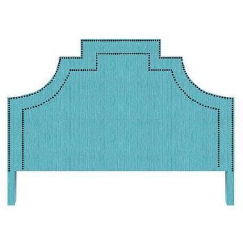 Beds/Headboards - Lucky Headboard - lucky, headboard, turquoise