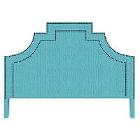 Beds/Headboards - Lucky Headboard - lucky, headboard, turquoise