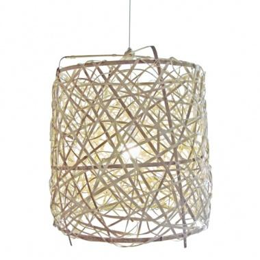 Lighting - Bird Nest Basket Light | South of Market - bird nest, basket, light