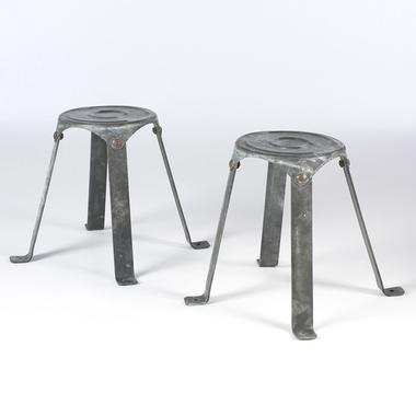 Metal Stools South Of Market