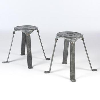 Seating - Metal Stools | South of Market - metal, stools