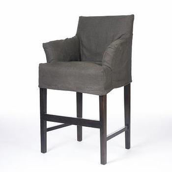 Seating - Pair of Charlotte Bar Stools | South of Market - charlotte, bar stools