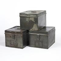Decor/Accessories - Iron Box | South of Market - iron, boxes