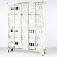 Storage Furniture - White Lockers | South of Market - white, lockers