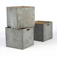 Decor/Accessories - Zinc Boxes | South of Market - zinc, boxes