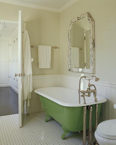 Clawfoot Tub Bathroom Design Cottage Bathroom