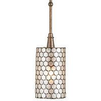 Lighting - Pendants | Maison Blanche Home - currey & co., regatta, pendant