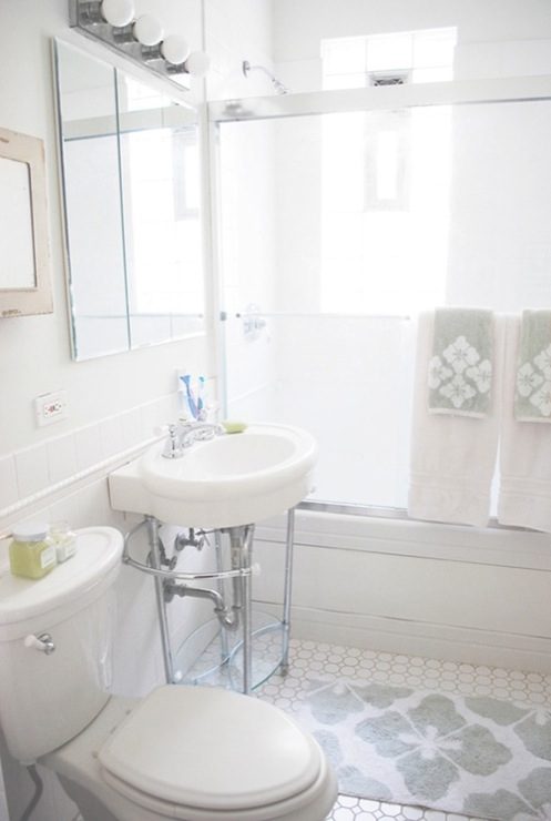 West Elm Bath Mat Transitional Bathroom Live Creating Yourself