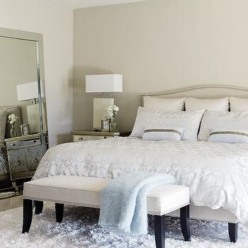 Silver Bedding, Contemporary, bedroom, House & Home