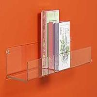Decor/Accessories - Acrylic book shelf - acrylic, shelf, lip
