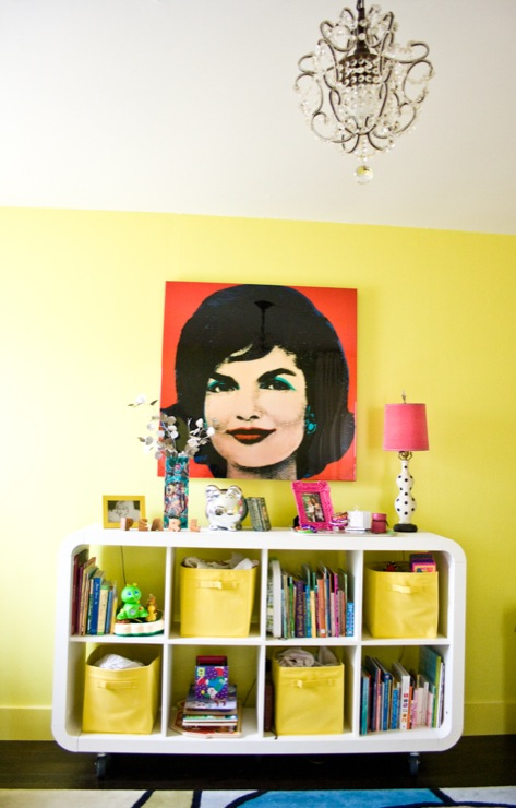 Girl s room sherwin williams funky yellow natalie clayman interior