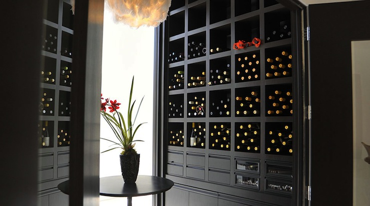 Built In Wine Racks Contemporary Kitchen Lucinda
