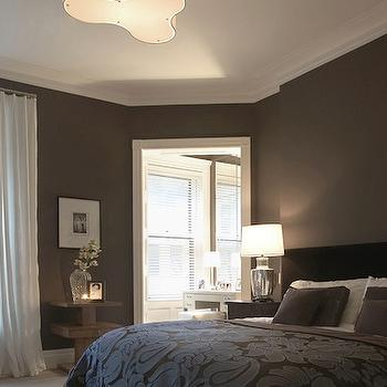 Dark Brown Bedroom, Transitional, bedroom, Rees Roberts
