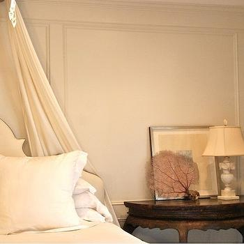 Sea Fan Decor, French, bedroom, Lucinda Loya Interiors