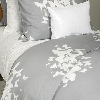 Bedding - Believe You Can Fly Duvet/Sham Set - Duvet Covers + Quilts - Bedding - believe you can fly, gray, duvet, shams, set