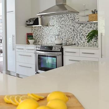 Yellow Accents, Contemporary, kitchen, Andrea Johnson Design