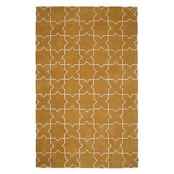 Z Gallerie, Moroccan Rug, Yellow