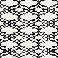 Wallpaper - Painted Gate Wallpaper in Ivory - Kreme - painted, gate, wallpaper, ivory, kreme