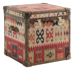 Storage Furniture - Kilim Cube Chest - kilim, cube, chest
