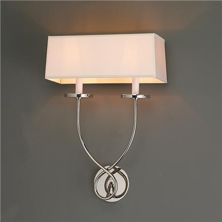 French Twist 2 light Sconce - Shades of Light