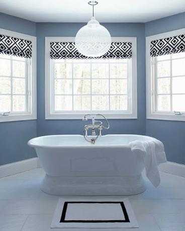 Roman Bathroom Designs on Design   Bathrooms   David Hicks La Fiorentina  Waterworks Sahara Bath