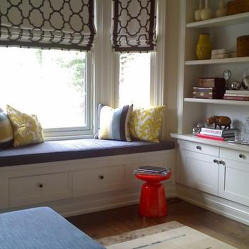 Kids Room Window Seat, Contemporary, boy's room, David Nosella Interior Design