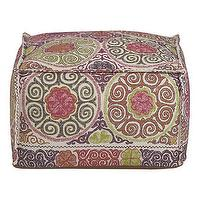 Seating - Marrakesh Pouf in New Furniture | Crate and Barrel - marrakesh, pouf