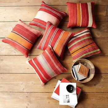 Pillows - Battani Stripe Pillow Cover | west elm - battani, stripe, pillow, cover