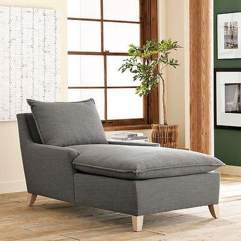Seating - Bliss Chaise | west elm - gray, bliss, chaise