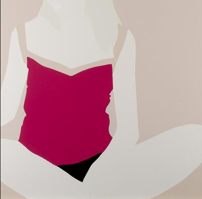 Art/Wall Decor - Eleven Fine Art - Artist detail - pop art, Natasha Law, sat on Pink on Pink